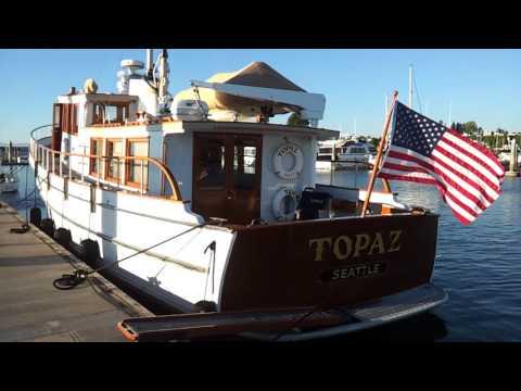 Port of Everett Marina and Port Gardner, Everett, Washington, May 22, 2017