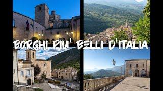 Borghi più belli d'Italia in Abruzzo - 1^ parte #Vlog #HD