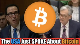 The USA 🇺🇸 JUST Suggested Some SCARY Regulation for Bitcoin Holders [Both The Fed & Treasury SPEAK]
