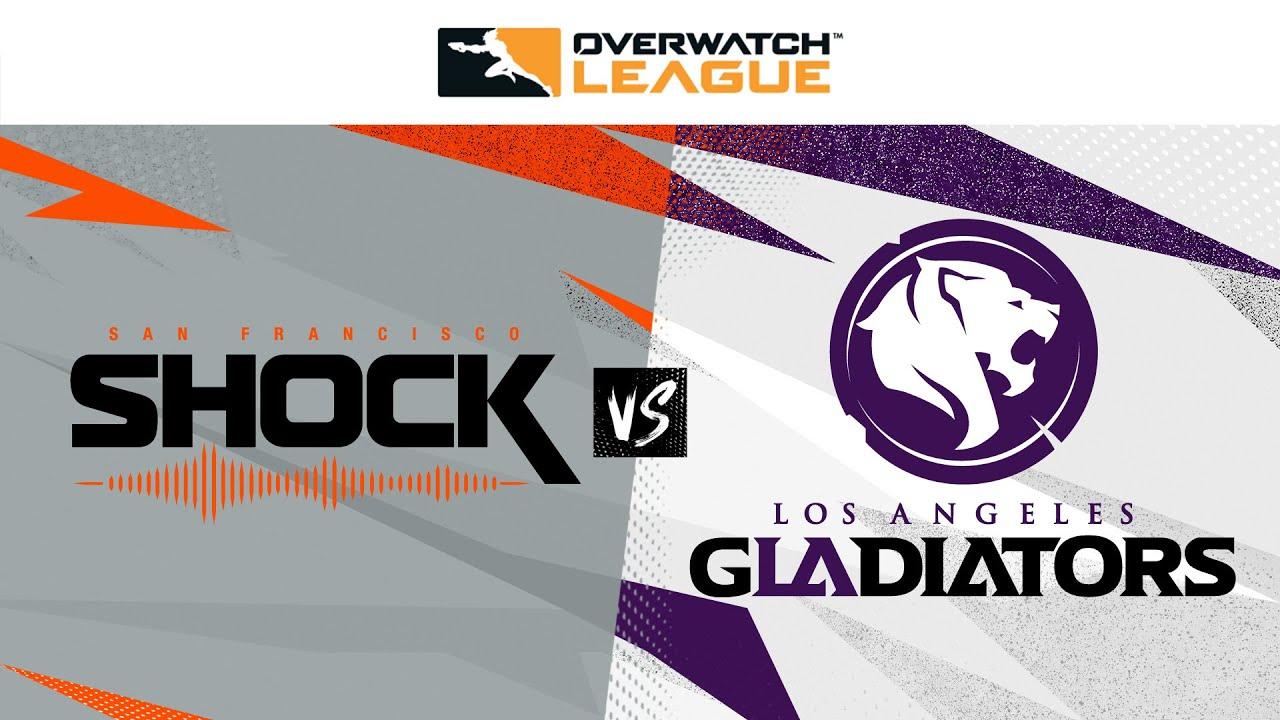 @San Francisco Shock  vs  @LA Gladiators  | Countdown Cup Knockouts | Week 3 Day 4 — West