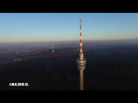 Stuttgarter Fernsehturm DJI P3P