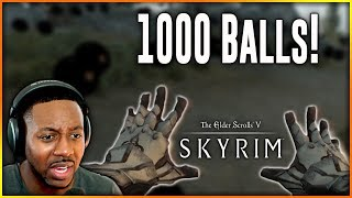 Skyrim Special Edition Naruto Mod ∙ Sage Six Paths 1000 Truth Seeking Balls [Amaterasu]