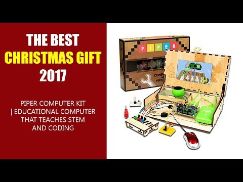 THE BEST CHRISTMAS GIFT 2017 - Piper Computer Kit | Educational Computer