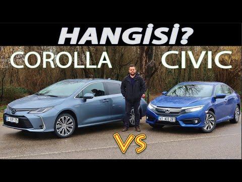 Toyota Corolla Vs Honda Civic - Hangisi?