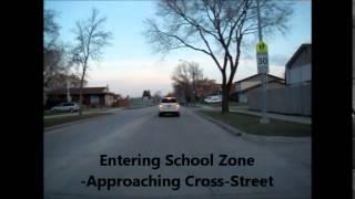 Illegal School Zone Signing/enforcement In Winnipeg