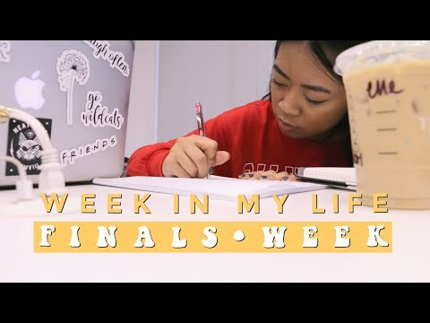COLLEGE WEEK IN MY LIFE: FINALS WEEK AT JOHNSON AND WALES UNIVERSITY