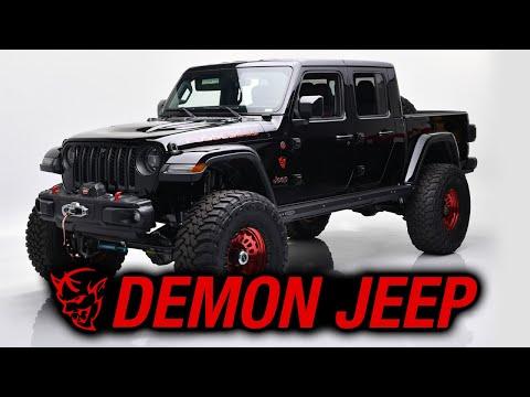 2020 Custom Demon Jeep Gladiator - BARRETT-JACKSON