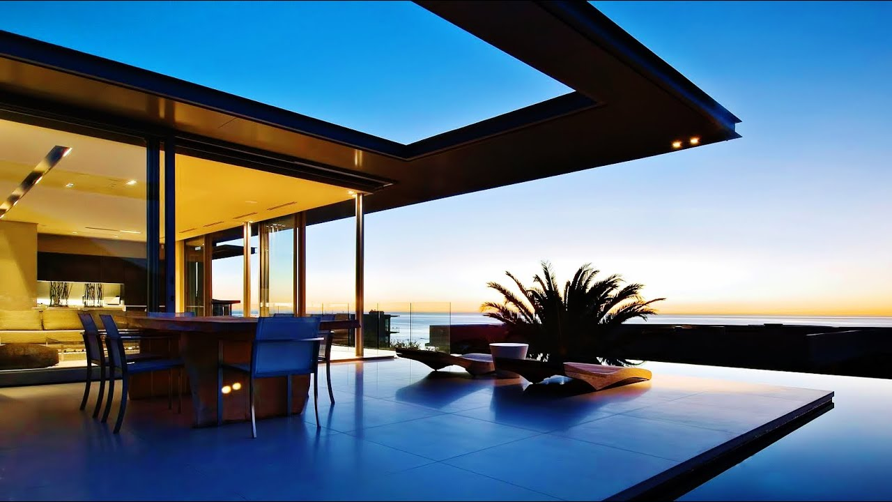 sophisticated sleek minimalistic designed contemporary luxury home in camps bay south africa youtube