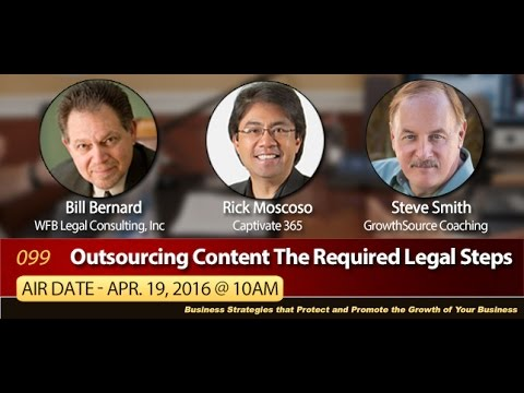 Outsourcing Content the Required Legal Steps
