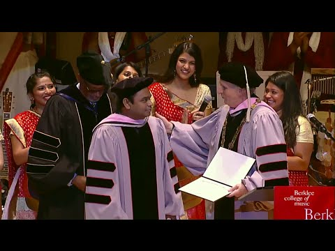 A. R. Rahman Receives Honorary Doctorate