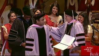 A R Rahman Receives Honorary Doctorate MP3