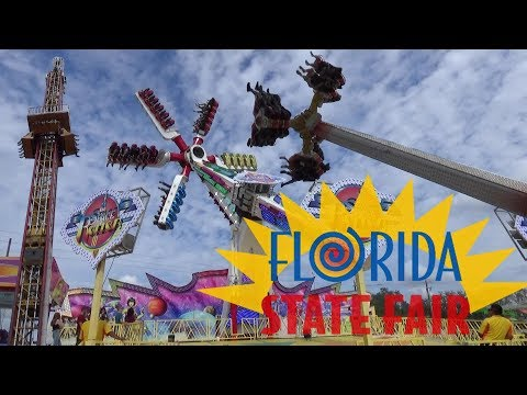 Thrilling Fair Rides & Crazy Carnival Food at the Florida State Fair