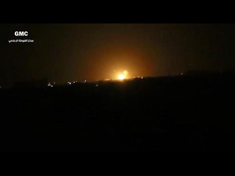 أخبار عربية   مصادر بالمعارضة: ضربات صاروخية على قاعدة قرب مطار #دمشق