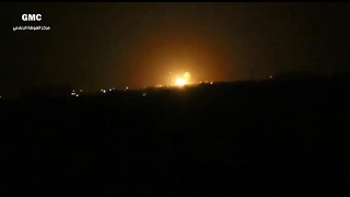 أخبار عربية | مصادر بالمعارضة: ضربات صاروخية على قاعدة قرب مطار #دمشق