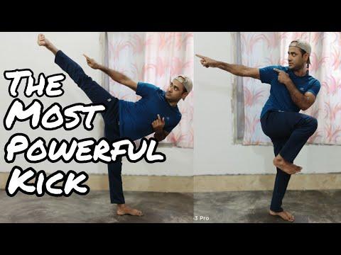 Powerful Side kick /tobi yokogeri/ Jumping side kick in hindi