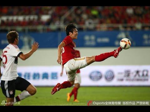 HIGHLIGHTS Guangzhou Evergrande 5:4 Bayern Munchen 郜林单刀曾诚神扑恒大复仇拜仁 广州恒大5:4拜仁慕尼黑