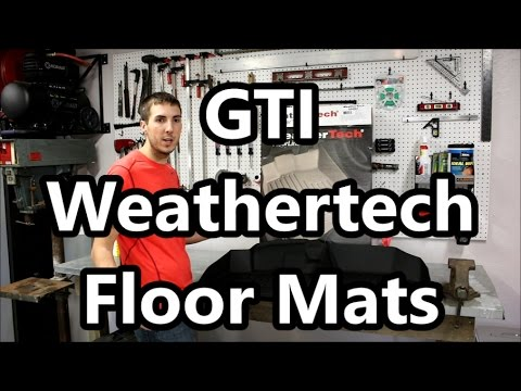 MK7 Golf GTI Weathertech Mats VS Volkswagen GTI Monster Mats