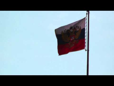 Bandera Moscu Rusia