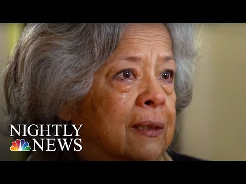Family's Story Of Survival After California Mudslides   NBC Nightly News