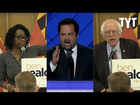 Bernie Sanders & Nina Turner Endorse Ben Jealous For Governor