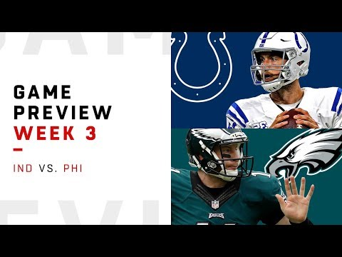Indianapolis Colts vs. Philadelphia Eagles | Week 3 Game Preview | NFL Film Review