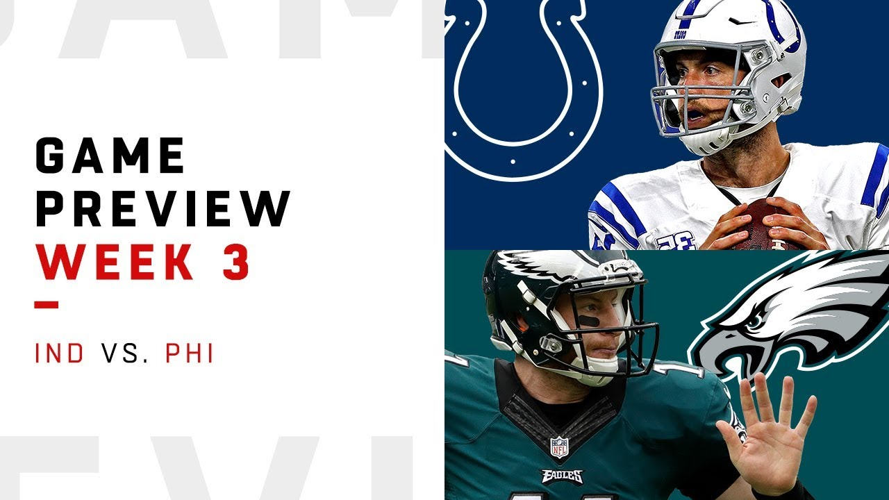 271848f0 Indianapolis Colts vs. Philadelphia Eagles | Week 3 Game Preview | NFL Film  Review