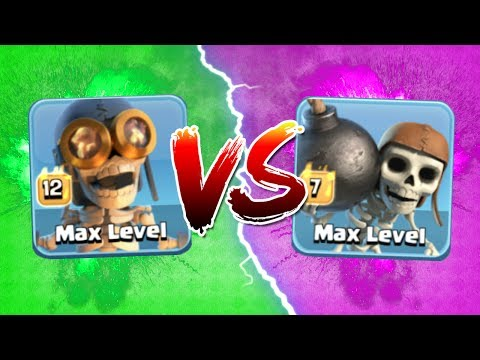 MAX BOMBERS vs WALL BREAKERS!! THE TRUTH OF WHO'S THE GREATEST! 🔥 Clash Of Clans 🔥