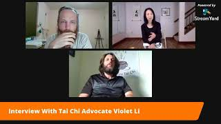 Violet Li Interview with Chai Tea Tai Chi