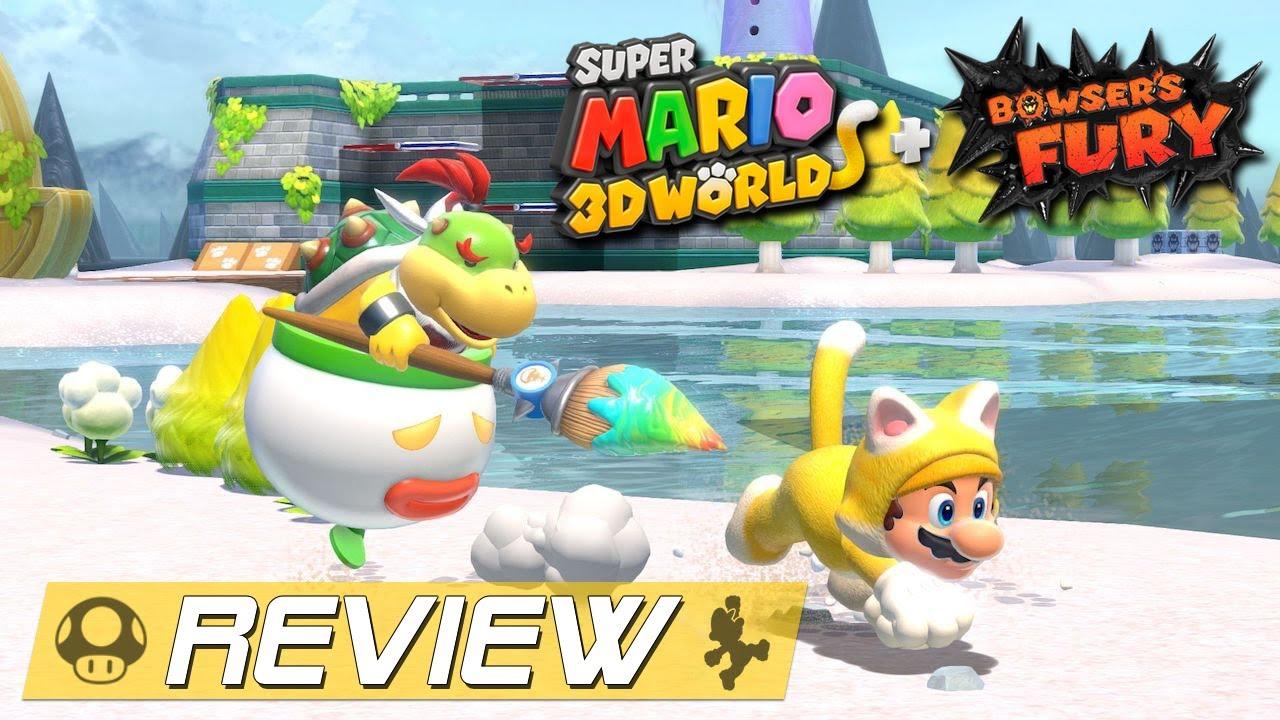 Super Mario 3D World + Bowsers Fury - Lohnt sich das Upgrade von Wii U zur Switch?