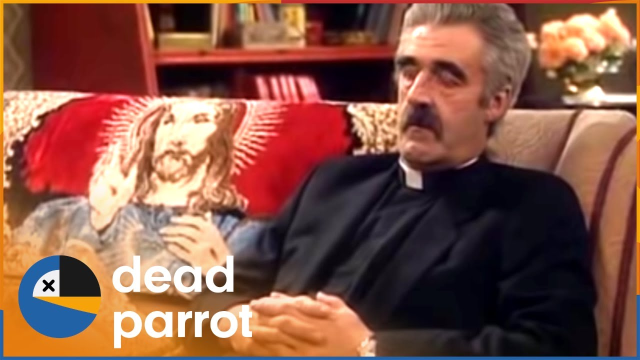 entertaining father stone father ted series 1 episode 2 dead parrot youtube. Black Bedroom Furniture Sets. Home Design Ideas