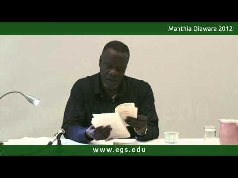 Manthia Diawara. Identity and Relation in Edouard Glissant. 2012