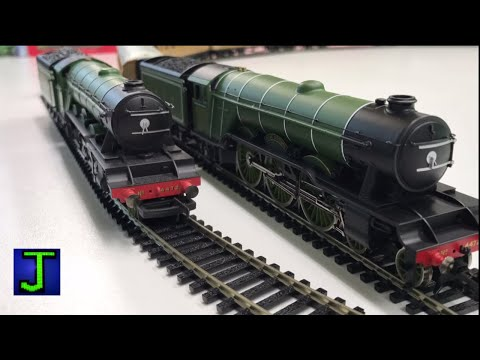 The Flying Scotsman OO Gauge Hornby Train Set – Unboxing and Review!