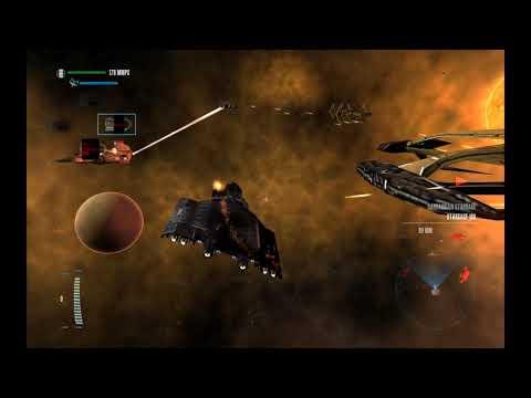 star trek legacy stargate Terran fleet vs cardassian controlled system