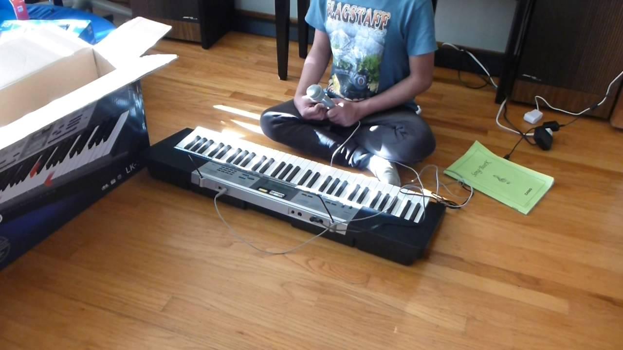 casio lk 175 key lighting keyboard youtube. Black Bedroom Furniture Sets. Home Design Ideas
