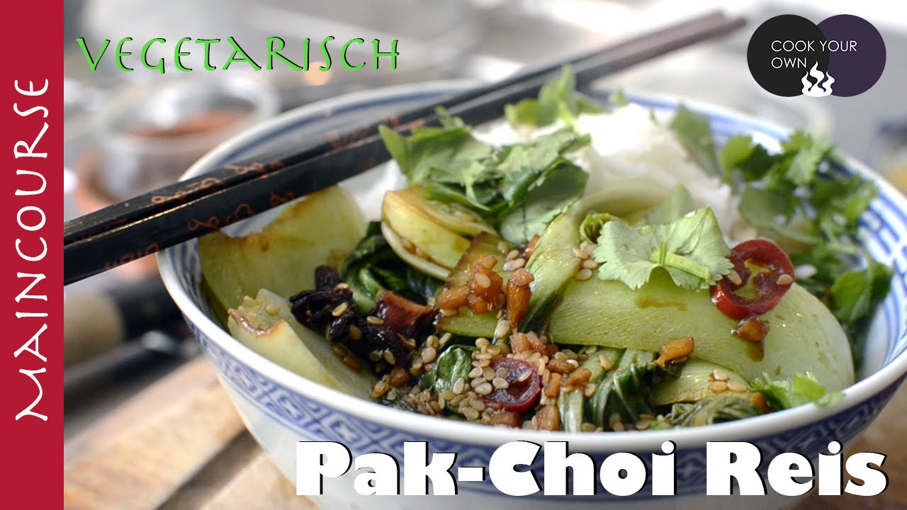 Pak Choi Reis Maincourse English Subtitle Youtube