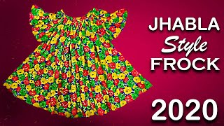 Summer Baby Frock || Jhabla Style Baby Frock Cutting and Stitching