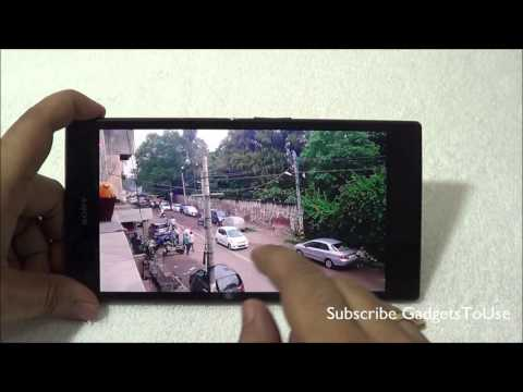 Sony Xperia Z Ultra Camera Review With Photo and Video Samples