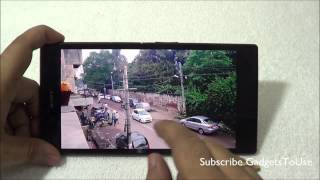 sony Xperia Z Ultra Camera Review