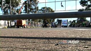 AUSTRALIAN RAMP DESIGN AND RED BULL FMX DEMO