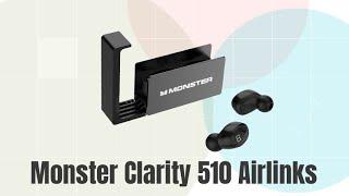 Trên tay tai nghe True Wireless Monster Clarity 510 Airlinks: Thiết kế lạ ! Âm thanh Sôi Động