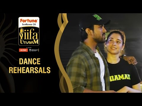 Celebrities Rehearsing for IIFA Utsavam 2015 | Dance Rehearsals | Be1forChennai