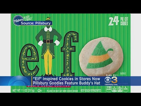 Nik The Web Chick - Pillsbury Releasing 'Elf' Sugar Cookies!