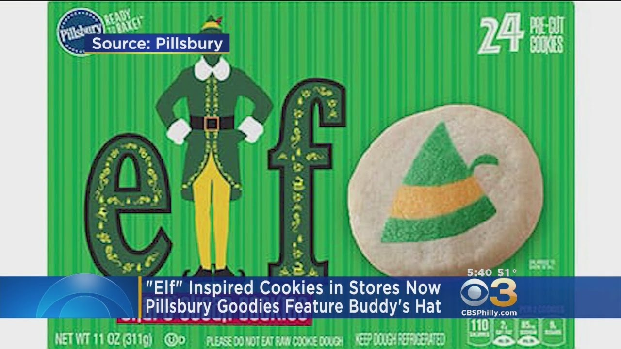 Elf Inspired Cookies Sold At Target Walmart