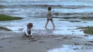 Sur la plage de Lesconil