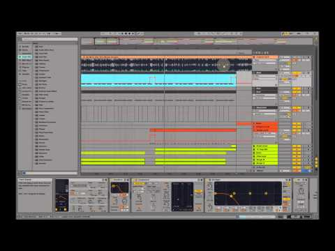 Making of David Guetta - Hey Mama (feat. Nicki Minaj & Afrojack) Ableton Remake / Tutorial