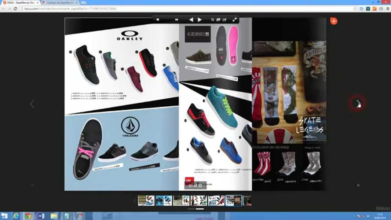 Catalogo de Zapatillas Oechsle Primavera Verano 2014-2015 - YouTube
