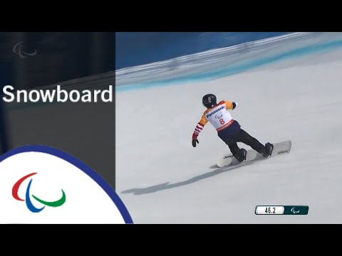 Mike MINOR  Snowboard cross  Snowboard  PyeongChang2018 Paralympic Winter Games