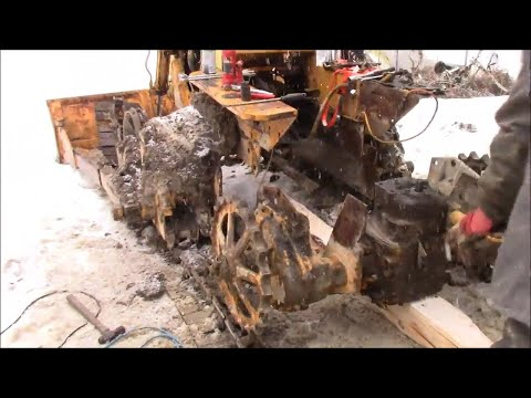 310 Case Dozer, Removing The Transmission