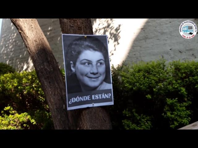 Sindicato conmemora a Elizabeth Rekas Dia del Detenido Desaparecido 2019