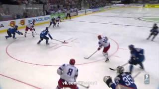 Россия - Финляндия 2 - 2. Гол Овечкина.